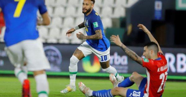 Бразилия записа шеста поредна победа в квалификациите за Мондиал 2020