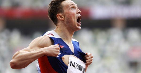 Карстен Вархолм спечели олимпийската титла в бягането на 400 метра