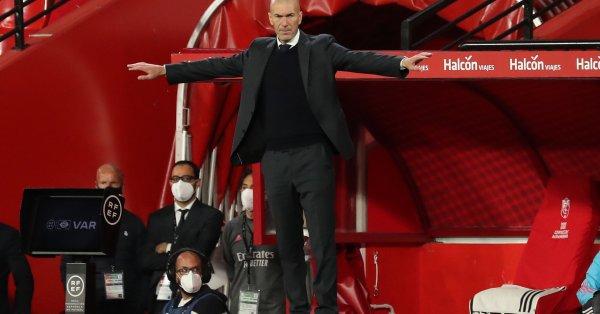 Наставникът на Реал Мадрид Зинедин Зидан намекна, че ще напусне