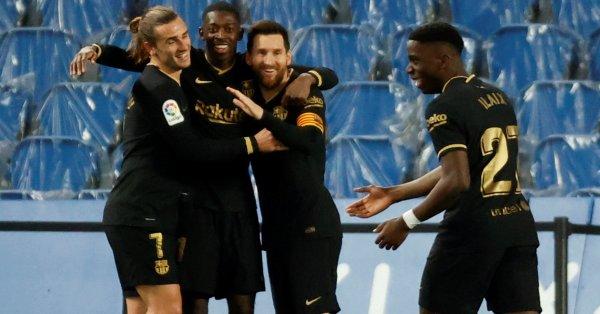 Барселона постигна петата си поредна победа в Ла Лига, след