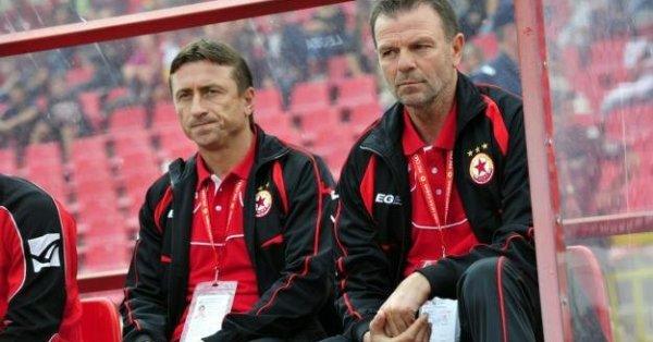 Треньорът на ЦСКА Стойчо Младенов изрази задоволството си от победата