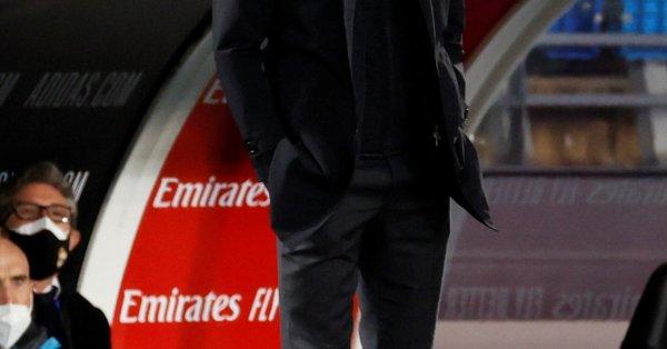 Треньорът на Реал Мадрид Зинедин Зидан остана бесен от съдийството