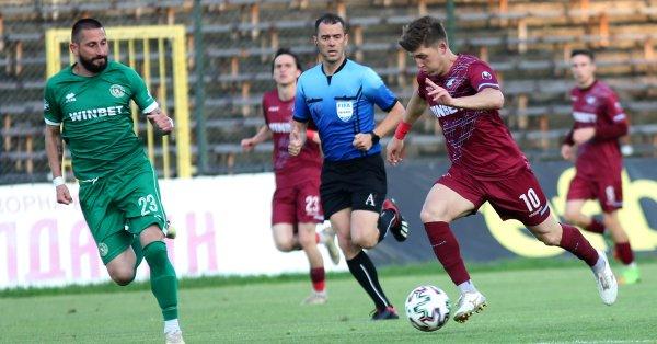 Ботев Враца остава в efbet Лига, след като спечели баража