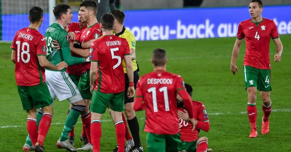 Футболните национали на България извъртяха 1:1 със Словакия в контрола.