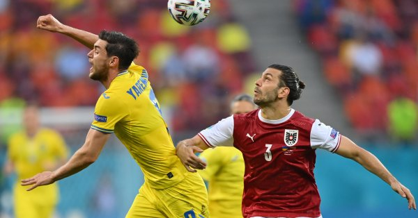 """Австрия удари с 1:0 Украйна в среща от група """"С"""""""