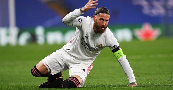 Капитанът на Реал Мадрид – Серхио Рамос, може да е