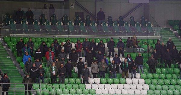 Ръководството на Лудогорец призовава феновете, които притежават билет за мача