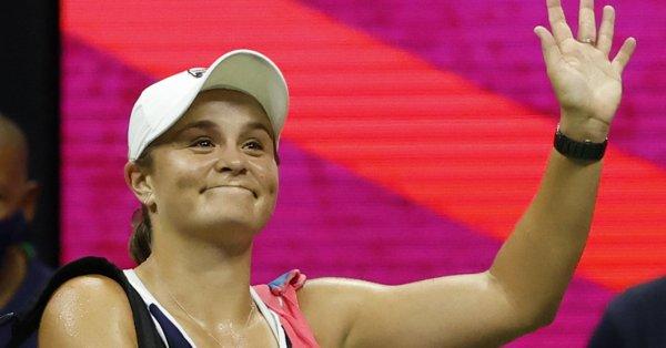 Водачката в световната ранглиста по тенис Ашли Барти от Австралия