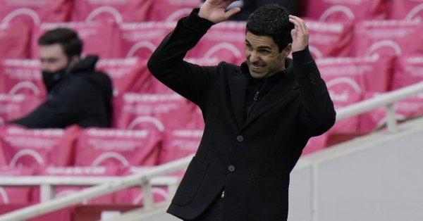 Мениджърът на Арсенал Микел Артета изрази задоволство от победата над
