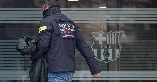 В исторически план проблемите на президентите на Барселона с правосъдието