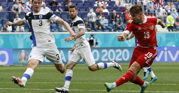 Русия и Дания излизат един срещу друг в мач от