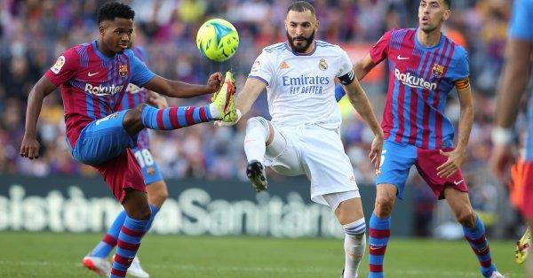 """Реал Мадрид удари Барселона с 2:1на """"Камп Ноу"""" и записа"""
