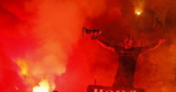 Агитката на ЦСКА вече е в италианската столица Рим, където
