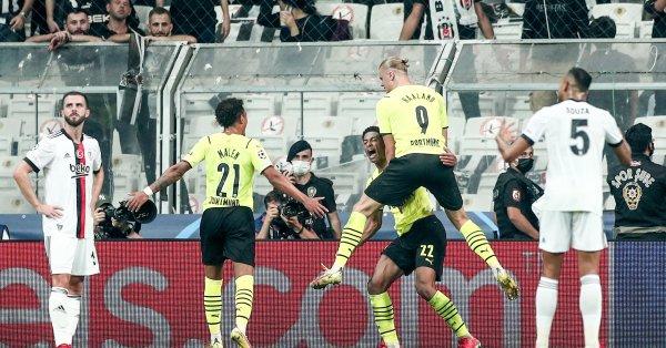 Борусия Дортмунд удари Бешикташ с 2:1като гост в мач от