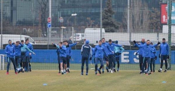"""Нападателят на Левски Мартин Петков се надява днес """"сините"""" дабъдат"""