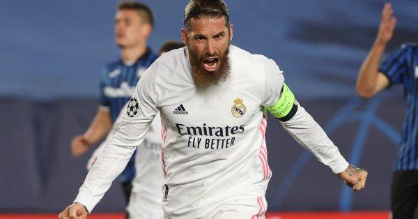 Капитанът на Реал Мадрид Серхио Рамос е здрав и ще