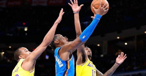 Баскетболистите на ЛА Лейкърс допуснаха сериозен провал, след като загубиха