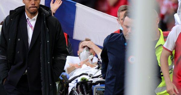 Датчанинът Кристиан Ериксен отправи послание към феновете от болницата в