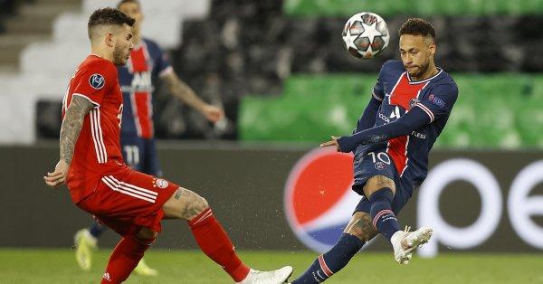 """Байерн Мюнхен победи ПСЖ с 1:0 на стадион """"Парк де"""