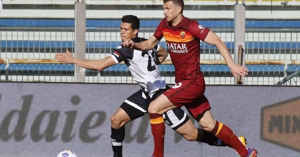 Ръководството на Рома търси нов нападател, който да смени Един