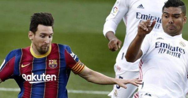 Реал Мадрид - Барселона, среща от Примера Дивисион на Испания,