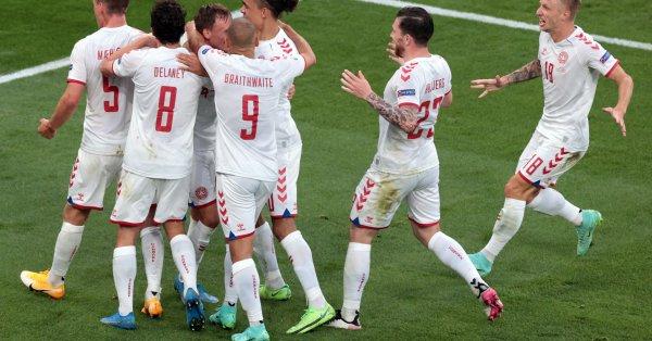 Дания разгроми Русия с 4:1 в последния си мач от