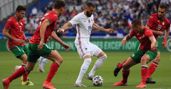 """Футболните национали на България отново загубиха, като този път """"лъвовете"""""""