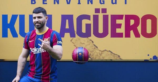 Новото попълнение на Барселона Серхио Агуеро вече се чувства у