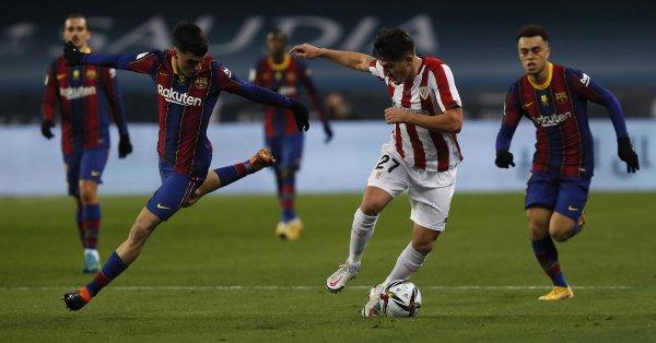 Барселона разполага с най-младия действащ отбор в Ла Лига, показва