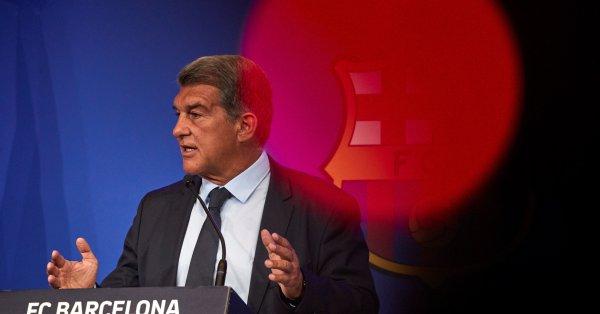 """Президентът на Барселона Жоан Лапорта призова за """"търпение"""" от страна"""