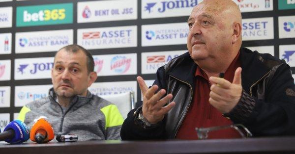 Новият-стар треньор на Славия Златомир Загорчич изрази задоволството си от