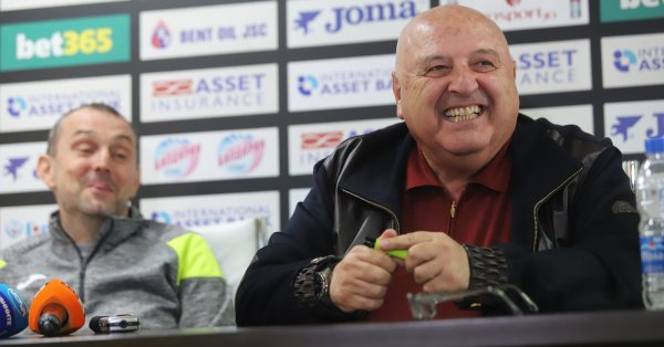 Босът на Славия Венци Стефанов ще присъства на днешния Изпълком