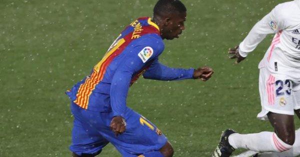 Нападателят на френския национален отбор по футбол Усман Дембеле ще