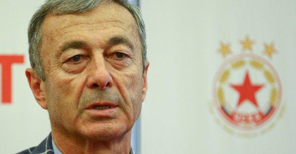 Собственикът на ЦСКА Гриша Ганчев не е променил решението си
