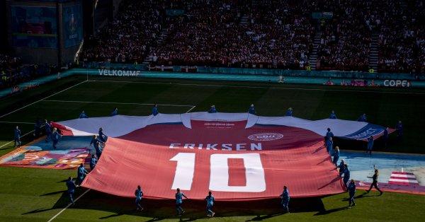 Дания тръгва на бой последен в името на Кристиан Ериксен.