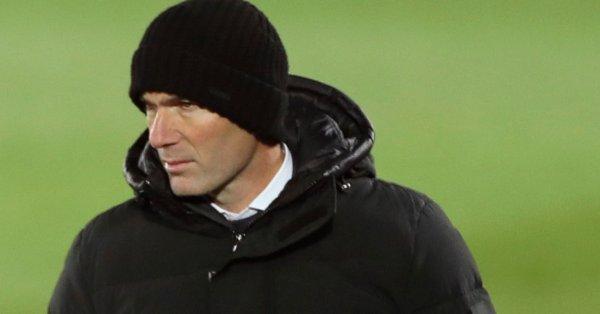 Треньорът на Реал Мадрид Зинедин Зидан не скри възхищението си