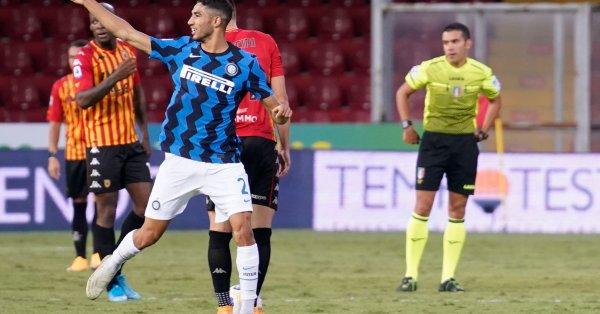 Ромелу Лукаку и Алексис Санчес поведоха атаката на Интер, а
