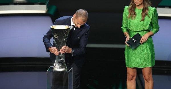 Президентът на УЕФА Александър Чеферин изпрати официално писмо до българския