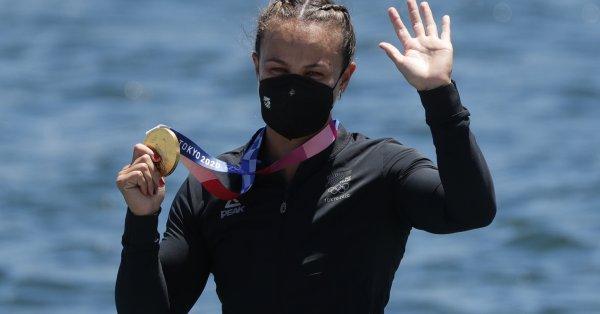 Лиза Карингтън спечели два златни медала на олимпийските игри в