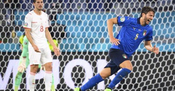 Халфът на Италия Мануел Локатели беше избран за Играч на