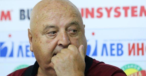 Президентът на Славия Венцеслав Стефанов даде коментар относно изминалите контролни