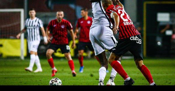Отборът на ФК Копенхаген пристигна в Пловдив вчера по обед