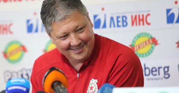 Старши треньорът на ЦСКА Любослав Пенев бе избран за треньор