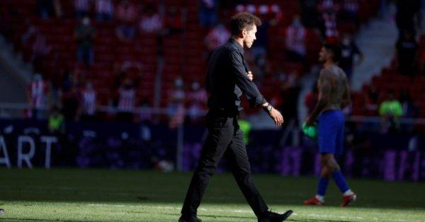 Треньорът на Атлетико Мадрид Диего Симеоне заяви в понеделник, че