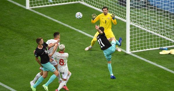 Австрия записа първата си победа на голямо първенство от 31