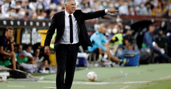 Наставникът на Реал Мадрид Карло Анчелоти отправи сериозна критика към