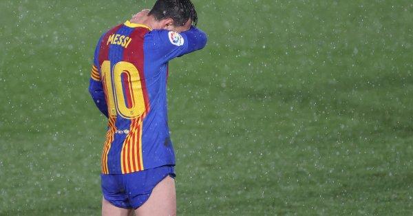 Голямата звезда на Барселона Лео Меси влезе в черна серия