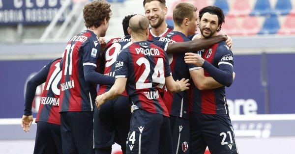 Болоня победи с 3:1 у дома Сампдория в среща от