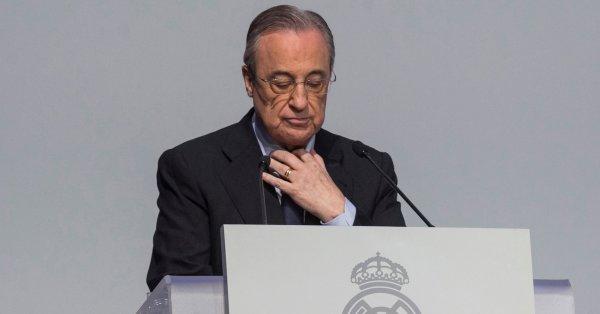 Президентът на Реал Мадрид Флорентино Перес иска да привлече в