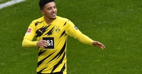 Манчестър Юнайтед обяви трансфера на Джейдън Санчо от Борусия (Дортмунд).